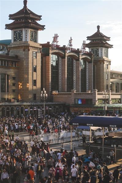 北京站的40年春运往事