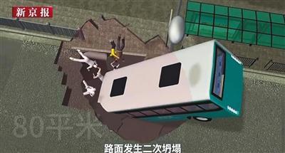 西宁路面塌陷事件已9人遇难1人失联